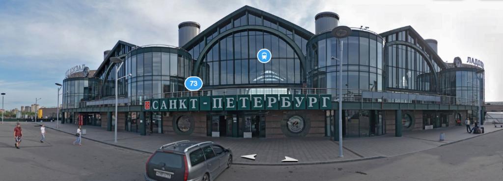 Автовокзал на ладожском вокзале