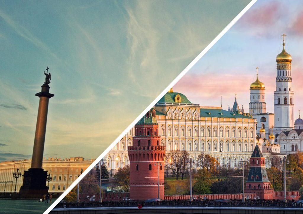 Автобус Санкт-Петербург — Москва