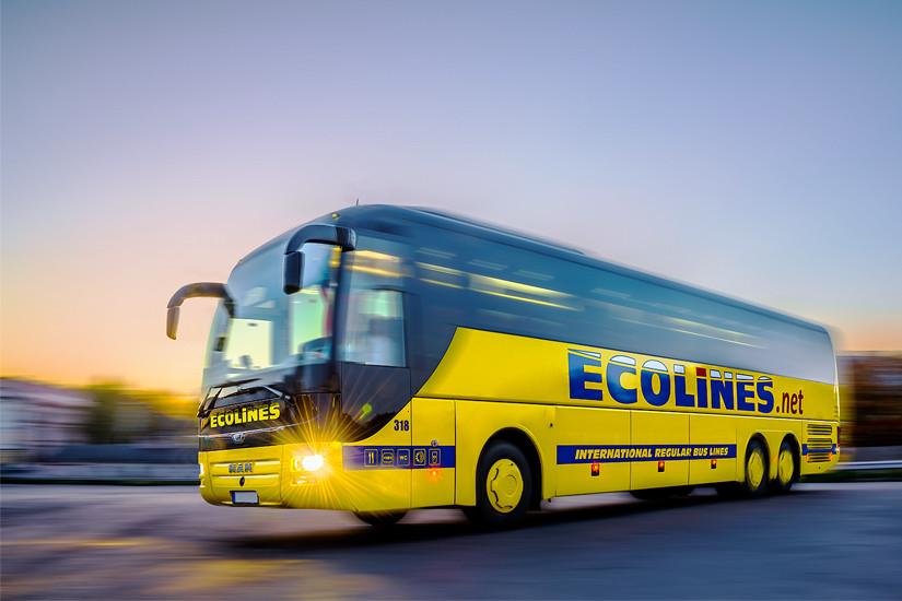 Автобусы Ecolines СПБ — Витебский автовокзал