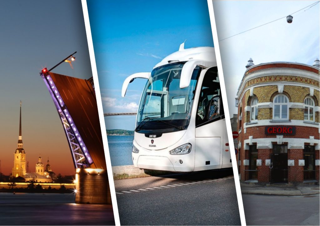 Автобус Санкт-Петербург — Пярну